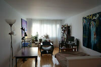 Bright and spacious 3½ apartment - lease transfer for July 1st