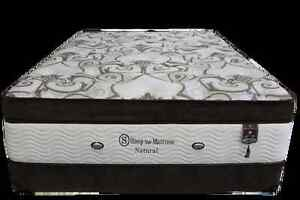 New half price one only all natural king size mattress set $1299