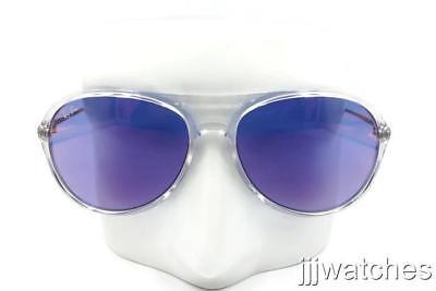New Ray Ban Alex Aviator Transparent Sunglasses Blue Lens RB4201 6294D1 59 (Transparent Aviator Sunglasses)