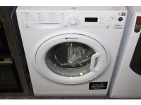 9KG HOTPOINT EXPERIENCE WASHING MACHINE, LED DISPLAY, EXCELLENT CONDITION, FREE INSTALLATION.