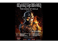 1 x Standing ticket - Iron Maiden at the O2 London - Sunday 28th May 2017