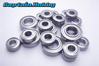 Rubber Sealed Ball Bearing Set For TAMIYA 58568 Neo Scorcher TT02B BLUE