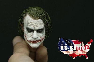 Joker Head (1/6 Joker Head Sculpt 3.0 For Hot Toys DX11 DX01 PHICEN Figure ❶USA IN)
