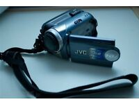 JVC MINI CAMCORDER, HARDISK MEMORY, LIKE BRAND NEW WITH ACCESSORIES