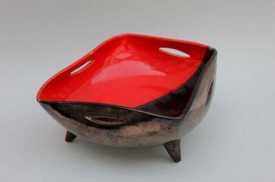 Dekorative Keramik-Schale Künstlerkeramik, 1950er Jahre