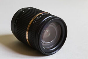 Tamron 18-270mm lens for Canon mount $250