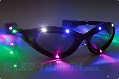 LED Party Brille  leuchten Rave Festival güntig online shop blinkbrille