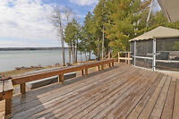 Beautiful year round lakefront home on Mink Lake!