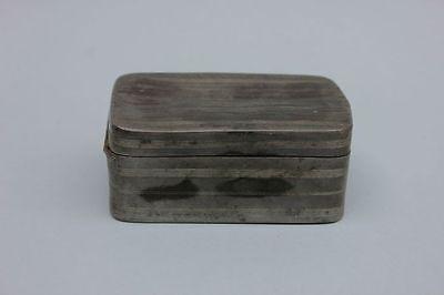 Zinn-Dose , Zinn-Behälter, 19.Jahrhundert