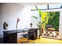 Flexible Tree house / office / Desk Meeting Space £31 per day Hackney