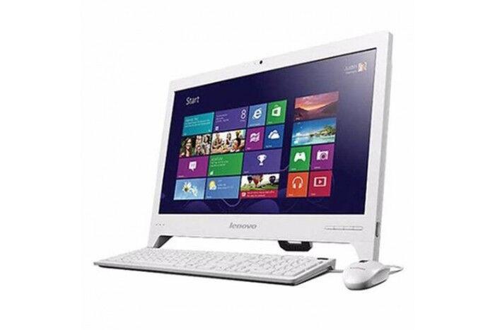 20 inch Lenovo IdeaCentre C20 All in One Desktop PC - White - 4GB, 1TB