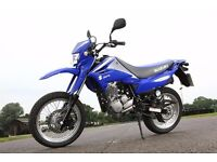 Wanted 125 trail or supermotobike