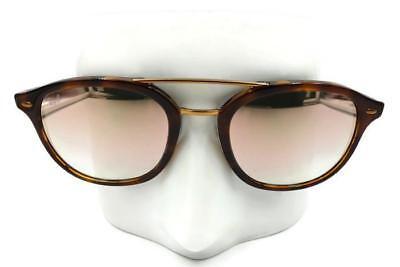 Ray-Ban Highstreet Tortoise Pink Gradient Mirror Sunglasses RB2183 1127B953 (Ray Ban Round Sunglasses Tortoise Shell)
