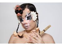 Bjork tickets Eden project Cornwall July 7 £240