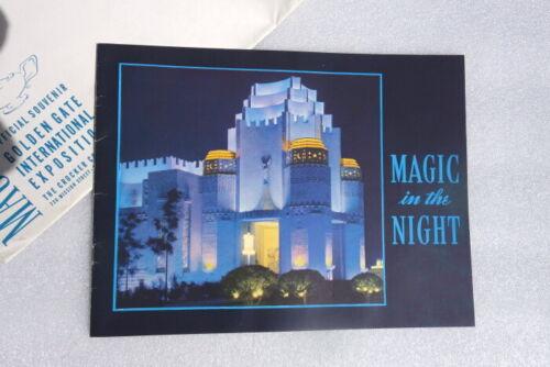 1939 San Francisco GGIE Magic In The Night Official Souvenir
