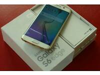 **MINT**SWAPS**SAMSUNG S6 EDGE GOLD**BOXED