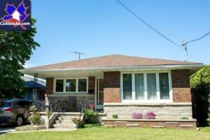 Clean 3-bed 1 bath New Basement Apartment Available Immediately.