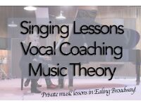 Private Singing Lessons - Vocal Teacher in Ealing Broadway. All levels welcome!