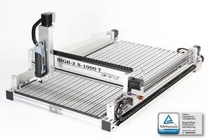 CNC 3D-Fräsmaschine 1000x600mm Fräse mit CAD/CAM: Fräsen / Kein Eigenbau Bausatz