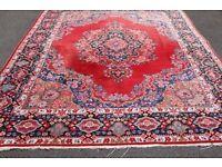 Persian handmade used rug - Size: 384 x 261 cm - wool