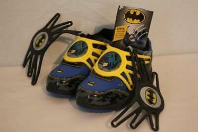 NEW Boys Batman Tennis Shoes Size 13 Athletic Light Up Sneakers Superhero DC