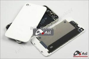 IPHONE 4 4S Back Glass Battery Door Back Cover