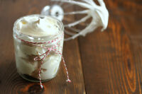 creamy whipped body butter