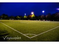 Friendly 8 a side football in Upper Holloway needs players.