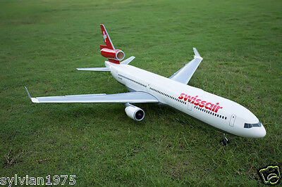 McDonnell Douglas MD11 1500mm Wingspan Epoxy 70mm X 2 EDF Scale RC Airline NIB