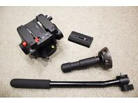 Manfrotto 501 HDV PRO Fluid Video Head - Brand New and boxed - Perfect for filming and photography