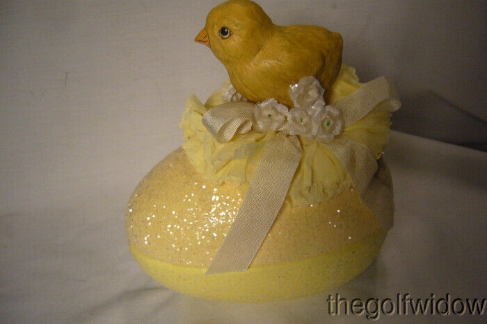Bethany Lowe Chick on Egg Candy Container no. TP5241Y