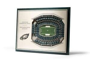 Philadelphia Eagles 5 Layer Stadium View 3D Wall Art of Lincoln Financial Field (New) Calgary Alberta Preview