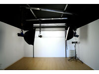 Everything you need to build a photo studio + cameras.