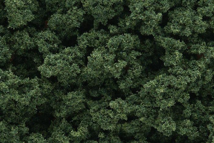 Woodland Scenics ~ Bushes 12oz Bag ~ Medium Green ~ Any Scale ~ FC146