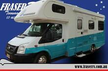 2007 Ford Transit Motorhome Wilsonton Toowoomba City Preview