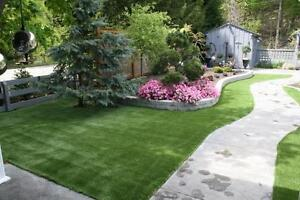 Artificial Turf-Never Cut, Water or Weed Your Lawn Again!