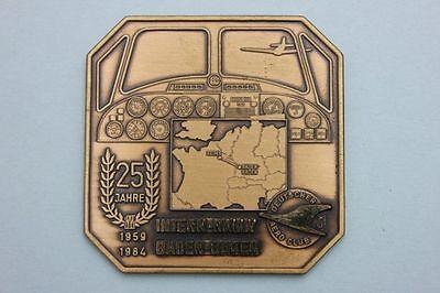 Deutscher Aero Club - Plakette 25 Jahre Intern-Rally Baden-Baden 1959-1984