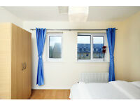 OUTSTANDING DOUBLE ROOMS IN AN END TERRACE HOUSE***20 MINUTES TO DOCKSLAND, CANARY WHRAF****