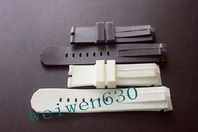 For Corum Admiral's Cup rubber Fragrance silicone Band Strap 24mm or 22mm