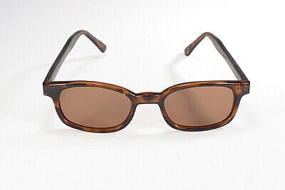 X -  KD's  Sunglasses   Dark Tortoise Frame  / Amber Lens  /  POLARIZED