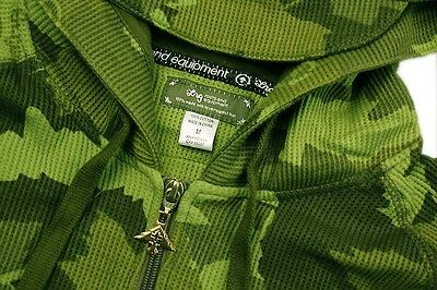 BRAND NEW L-R-G CAMOUFLAGE ZIP UP HOODY GREEN SIZE M-2XL