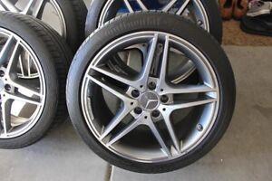 "4- 18"" 5X112 AMG Mercedes Wheels & Tires"
