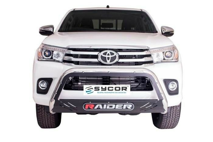 Toyota Hilux Revo 2016+ Nudge Bar Stainless Steel