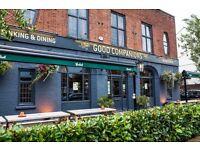 Part time Bar staff Good Companions Brighton