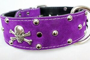 REAL LEATHER COLLARS WITH HEARTS AND SKULLS Prince George British Columbia image 4