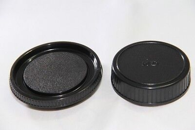 Body And Rear Lens Caps For Minolta MD Mount UK Seller