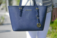 MICHAEL KORS TOTE&LAPTOP BAG - NAVY BLUE - PERFECT CONDITION