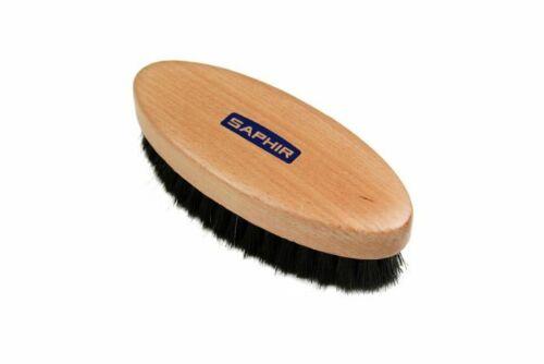 "Saphir polishing brush Horsehair bristles size 5.25"" long, 0.75"" bristles. New!"