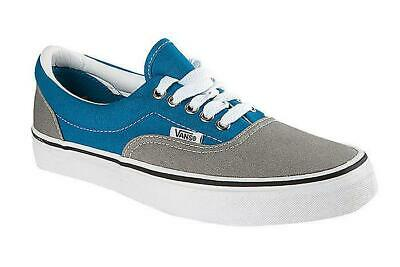 Vans Era 2 Tone Skate Shoes Women's Trainers Size UK 5 / EU 38 Grey / Blue