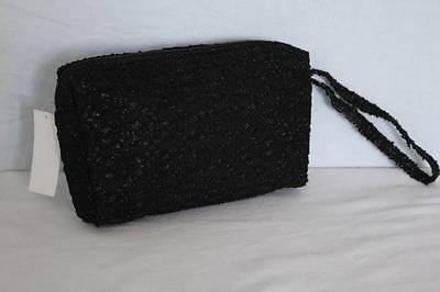 Decorative Evening Clutch Purse Handbag - NEW Womens Girls Fashion Purse Clutch Handbag Black Tote Evening Wallet Cosmetic